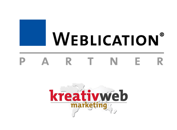 kreativ web marketing ist Weblication Partner-Agentur