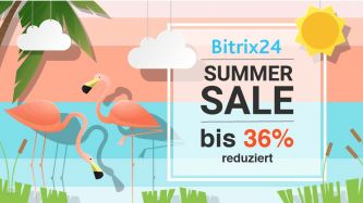 Bitrix24 Summer Sale bis 36% sparen